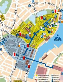 Til Kiel I Bil Parkering Kiel Sailing City